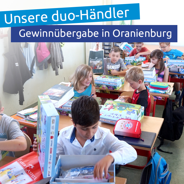 Schaufenstermalwettbewerb zum Kindertag 2018
