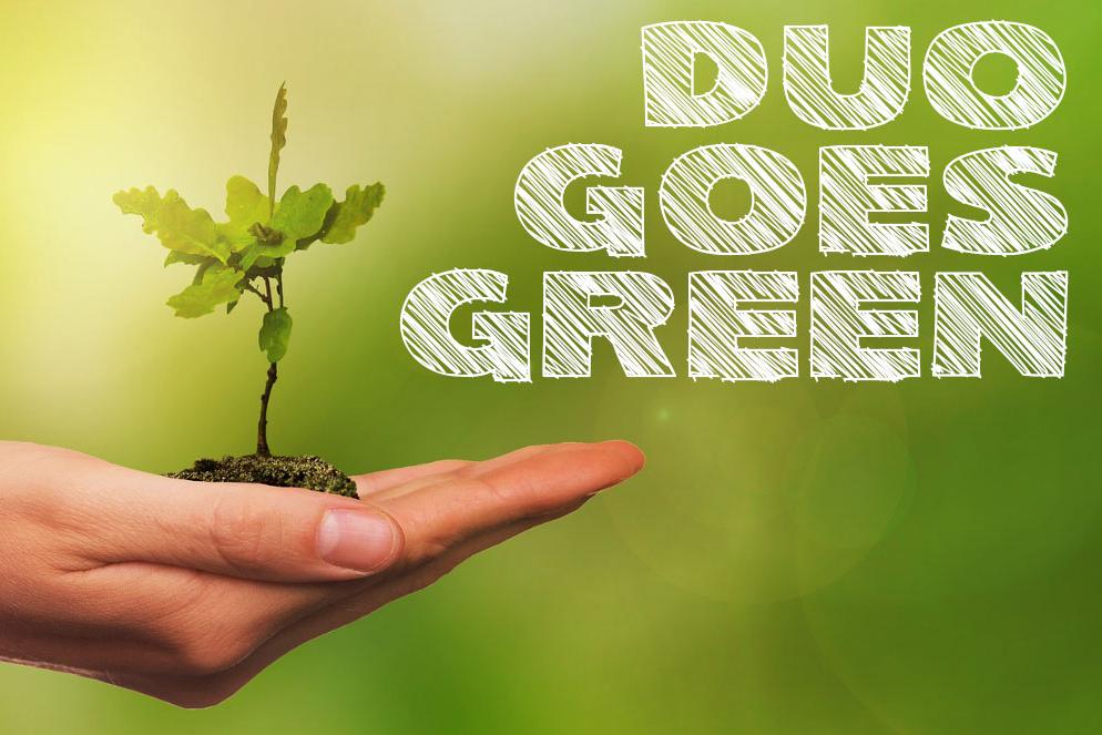 duo goes green - Nachhaltigkeit bei duo schreib und spiel
